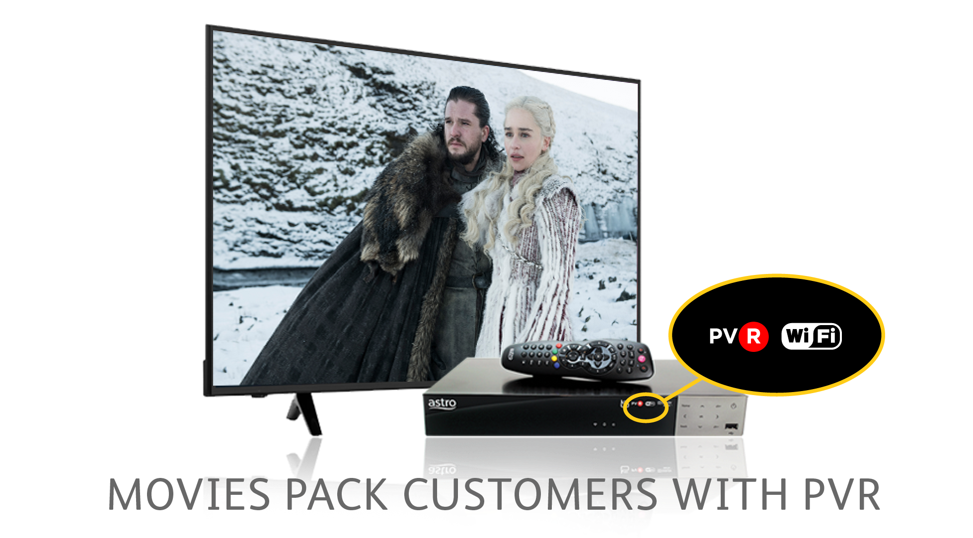 How Movies Pack Customers With PVR Can Watch Game of Thrones